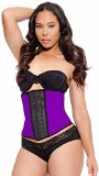 LMB Waist Trainer Corset - Workout Style 1024 - Latex Waist Cincher